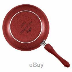 Paula Deen Signature Antiadhésives 15 Pièces En Porcelaine Batterie De Cuisine Rouge Neuf Dans La Boîte