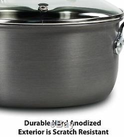 Pots Et Casseroles Set 12 Piece Antiadhésives T-fal Batterie De Cuisine Ultime Dur Thermique Spot S