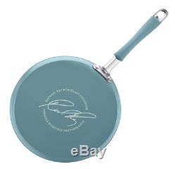 Rachel Ray Nouveau Disque Émail 12 Batterie De Cuisine Antiadhésive Piece Agave Bleu