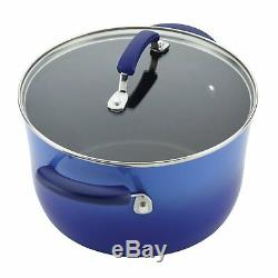Rachel Ray Set De Batterie De Cuisine Antiadhésive Pots De Cuisine Pan Pots Skillet Set 14 Pièce