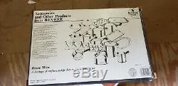 Retro Revere Ware Pot De 14 Pièces Avec Fond En Aluminium # 3501048 Nos Nib