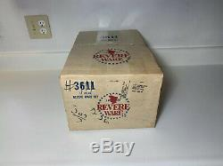 Revere Ware Cuivre Clad Stainless 11 Piece Set 1981 États-unis New Nos