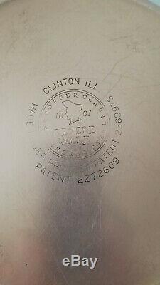 Revere Ware Ensemble De 12 Pièces 1801 Cooper Bottom Ss Pre 1968