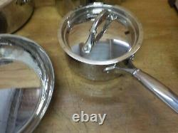 Ruffoni 99290 Symphonia Prima 7 Piece Cookware Set, Medium, Acier