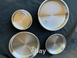 Saladmaster T304-316 Batterie De Cuisine En Acier Inoxydable Set 15 Pièces Waterless