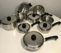 Saladmaster T304s Cuisine En Acier Inoxydable 14 Pièces Set- Condition Grande Lot-