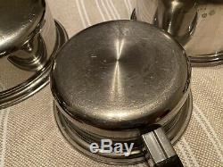Saladmaster Tp304 T304s En Acier Inoxydable 6 Pièces Batterie De Cuisine
