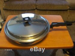 Saveur Seal Cookware 13 Piece Set Waterless Casseroles Vintage Great Condition