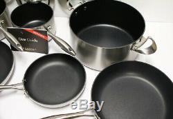 Scanpan 9 Pièces Ctx Stratanium Batterie De Cuisine # Antiadhésives 948