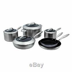 Scanpan Ctx 10 Piece Pan Set, Casseroles Scanpan Ctx Fry, Set Scanpan Ctx Batterie De Cuisine