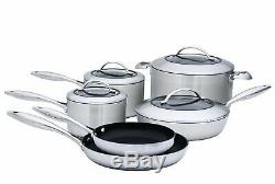 Scanpan Ctx 10 Pièces De Luxe Batterie De Cuisine, Inoxydable