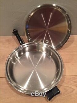 Set De 15 Pièces De Cuisine En Acier Inoxydable Saladmaster Clean, Excellent État