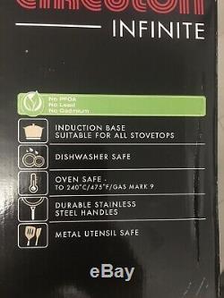 Set De Batterie De Cuisine Circulon Infinite, 5 Pièces, Anodisé Dur, Antiadhésif