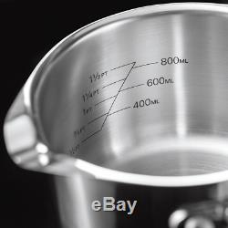 Stellar 7000 Set De Casseroles Égouttantes S7c1d, Prêt Pour L'induction