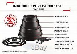 Tefal Ingenio Expertise Induction Antiadhésifs Batterie De Cuisine 13 Pièces