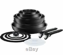 Tefal Ingenio L3209845 Ensemble Complet Antiadhésif De 13 Pièces Black Currys