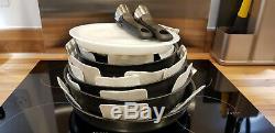 Tefal L6509042 Ingenio Expertise Antiadhésif Batterie De Cuisine 13 Pièces Noir