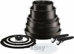 Tefal L6509042 Ingenio Expertise Antiadhésifs Induction Batterie De Cuisine, 13 Pièces, Bl