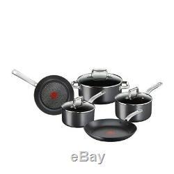 Tefal Prograde 5 Pièces À Induction Batterie De Cuisine Casseroles Non-stick Poêles