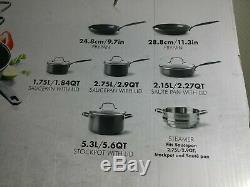 The Original Greenpan New York, Pro 11 Pièces Batterie De Cuisine En Céramique, Nouveau (autre)