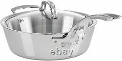 Viking Contemporary 3-ply 10-piece Stainless Steel Cookware Set Nouveau
