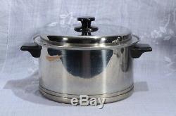 Vintage 17 Piece Set Lifetime 18-8 Inox Cookware