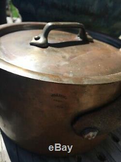 Vtg Lot Williams Sonoma Et Autres Noms Batterie De Cuisine En Cuivre Pour 11 Casseroles Et Poêles