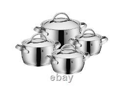 Wmf Concento 8-piece Cookware Set Pdsf 1050 $ Fabriqué En Allemagne